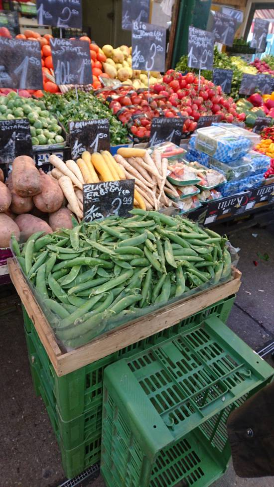 regional vegetables - Naschmarkt Vienna